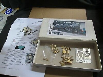 Modern Outline Br 4Mt 80000 Class Pony Truck Kit (O-Gauge) Unmade In Box
