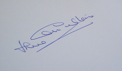 England 1966 World Cup Jack Charlton Signed card autograph Leeds United Eire