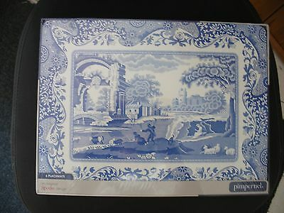 Table Mats Spode Italian Pattern   =  716J