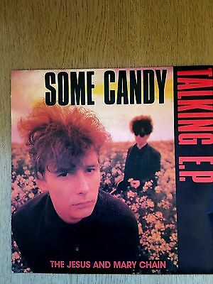 The Jesus and Mary Chain Some Candy Talking EP Australia 1986 WEA 7-248650