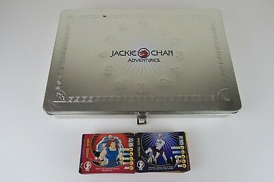 Jackie Chan Adventures - 130+ Trading Cards & Collectors Tin