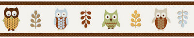 Sweet Jojo Designs Nature Owl Baby Kid Wall Paper Border Room D?cor Wallcovering