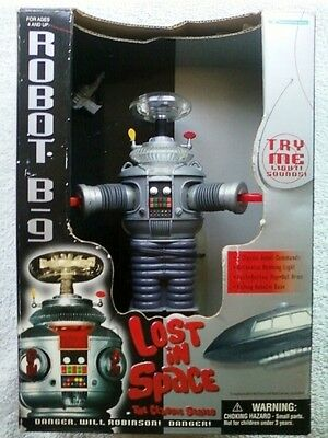 "LOST IN SPACE Robot B-9 Small 7"" Collector Edition"