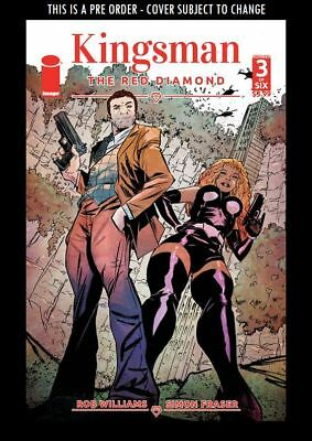 (Wk45) Kingsman: The Red Diamond #3A - Preorder