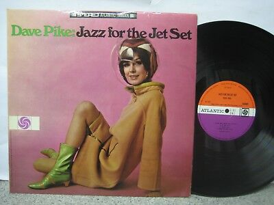 Dave Pike - Jazz for the Jet Set UK LP A-1 / B-1 Atlantic