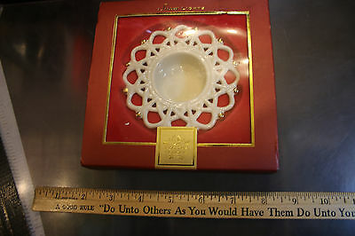 Lenox For The Holidays Snow Lights Shimmer Votive Holder New in Box LOOK! JSH
