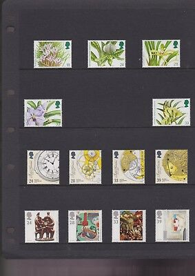 great britain MNH lot of 55 1489 / 1571  cat $48.00