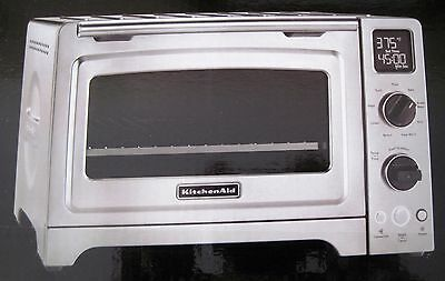 "KitchenAid 1800 Watt 12"" Convection Countertop Stainless Steel Oven KCO273SS"