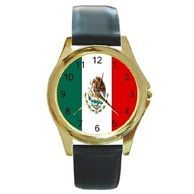 Mexico Mexican National Flag Wristwatch **brilliant Watch***