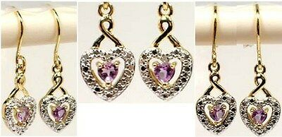 Diamond Accent Amethyst 18kt Gold Over Sterling Renaissance Magic Shaman Dreams