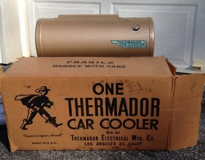 Vintage Thermador Swamp Car Cooler  Never Used With Original Box