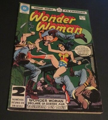 1979 Héritage Edition Canada Wonder Woman Double No.38-39 French