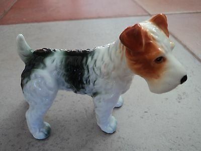 Vintage Staffs Terrier Dog/pup (Mint Condition) Lovely Item.