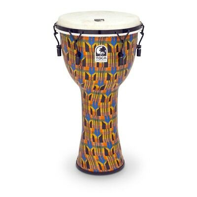 Toca Freestyle Djembe 10'' Mech - SFDMX-10K - Kente Cloth