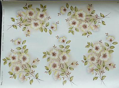 CERAMIC DECALS COTSWOLD 5 ON A SHEET18 x11cm GREAT FOR TILS /CERAMIC RIGHT PRICE