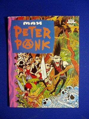 Peter Pank by Max. Underground satire (on Peter Pan). Knockabout Comics 1992.