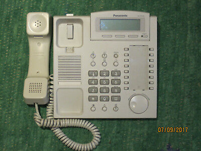 Panasonic KX-T7533 Systemtelefon in weiss
