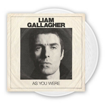 LIAM GALLAGHER As You Were LP Limited White Vinyl NEW 2017