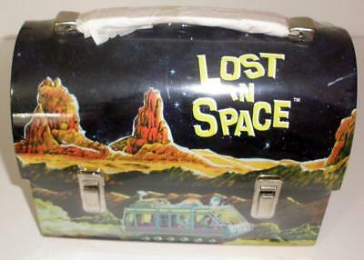 1998 G Whiz! Lost In Space Dome Top Metal Lunch Box - New And Sealed