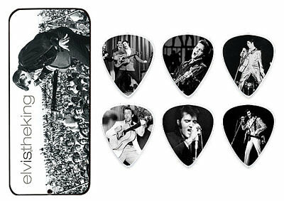 Dunlop Elvis Presley Collector Picks - Elvis King 6 Plektren