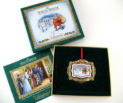 2011 Christmas Ornament White House Historical Association President Roosevelt