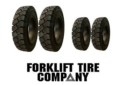 6.00X9 Tire 7.00X12 Tire New Solid Forklift Tires (4 Tires Total) 70012,6009 Tr
