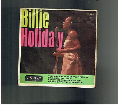 Billie Holiday They Cnt Take That Away From Me Ep Siwng Brother Swing
