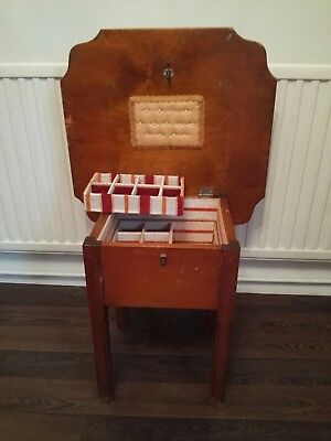 Vintage Sewing Table / Sewing Box / Side Table / Coffee shabby chic project