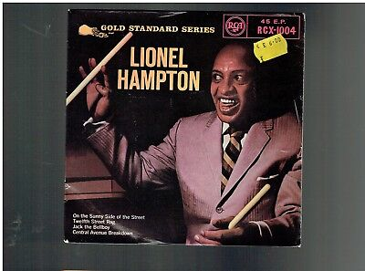 Lionel Hampton On The Sunny Side Of The Street Ep Jack The Bellboy/12Th St Rag