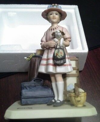 Norman Rockwell Porcelain Figurine Vacations Over 1981