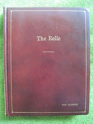 The Relic - Original Leatherbound Script Which Belonged To Actor Tom Sizemore