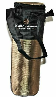 NEW Wine Bottle Cooler Bag Jackson-Triggs Estate Wines Winery Logo Insulated