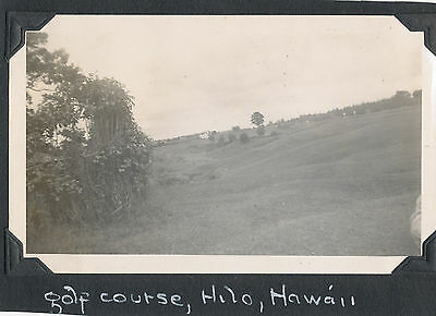 1943 Golf Course at  Hilo  Hawaii  Photo
