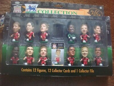 CORINTHIAN Liverpool 12 FOOTBALL PLAYER FIGURES PACK LV12P Headliners Prostars