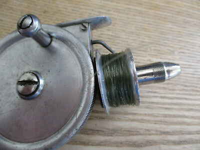 Vintage Palace Superb Early Fixed Spool Fishing Reel