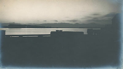 1928 piers Honolulu  5 x 7, artsy  Hawaii Photo