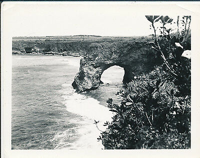 1940s Onomea Arch, Big Island Hawaii 4x5 photo
