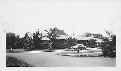 WWII 1940s  Ft Shafter, Post Bowling Alley Hawaii Photo