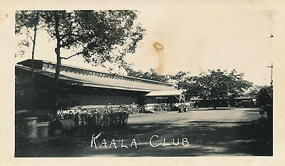 1940s  Kaala Club,  Hawaii  Photo