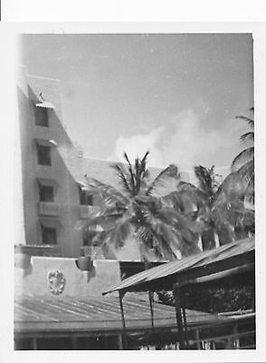 1940s WWII closeup of Royal Hawaiian Hotel Hawaii photo