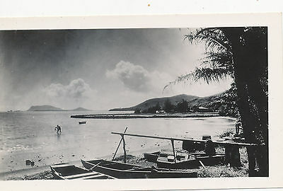 1930s Hawaii Photo net fisherman, boats,