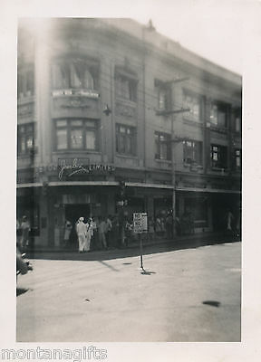 WWII  downtown Honolulu 1944 Hawaii Photo