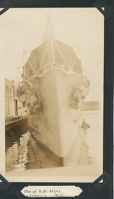 1924 Schofield Barracks Hawaii Photo British HMS ship   Honolulu Harbor