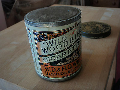 Wild Woodbines Unopened Tin Of Cigarettes Ww1 Ww2 Collectables