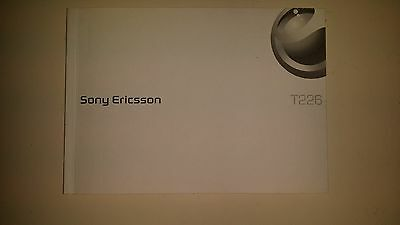 SONY ERICSSON T 226 Users Manual