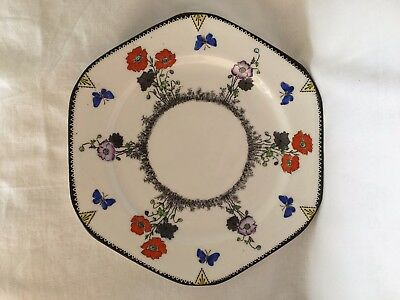 Foley China Tea Plate Field Poppy Pattern 1935-40 Vintage Great Condition