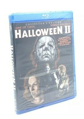 Halloween II (Blu-ray Disc, 2012, 2-Disc Set, Scream Factory Collectors Ed.) NEW