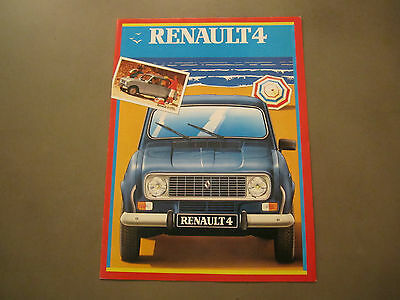 Catalogue RENAULT 4    R4