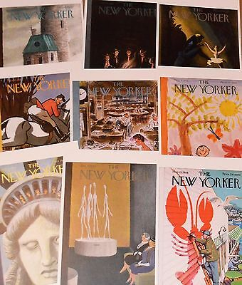 New Yorker 1950's Cover Postcards new