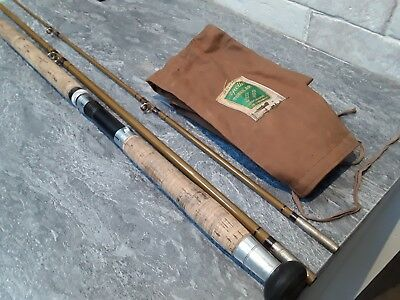 Vintage Accles and Pollock Apollo tubular steel 3 piece fly rod The Moray